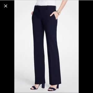 Navy Ann Taylor trousers